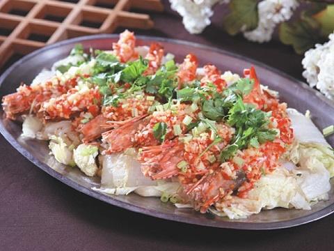 蒸檸檬海大蝦