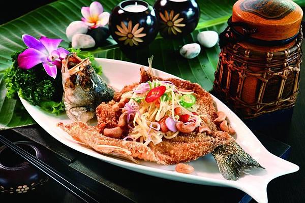 招牌菜-蕪菁酥魚