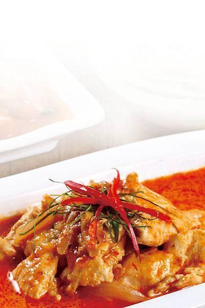 紅咖哩椰汁雞