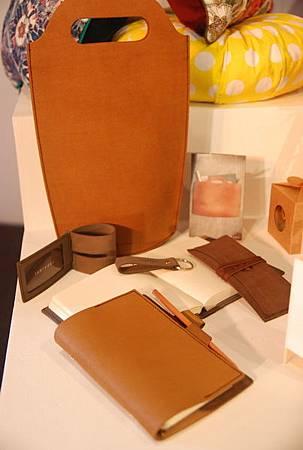 皮革製品一向強調簡單風格。圖片來源泰國商務處