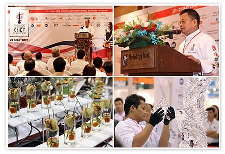 刺激的泰國廚師極限挑戰賽。圖片來源泰國商務處