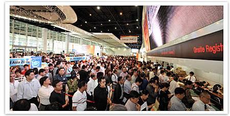 展覽會場。圖片來源泰國商務處