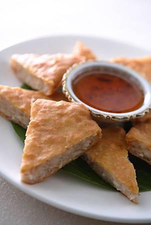 月亮蝦餅。圖片來源台北喜來登