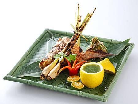 泰式烤青甘下巴。圖片來源台北喜來登