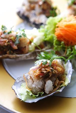 酸辣炸牡蠣。圖片來源台北喜來登