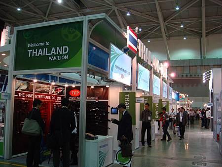 AMPA泰國館參觀。圖片提供-泰國商務處