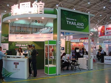 AMPA泰國館場地寬廣。圖片提供-泰國商務處