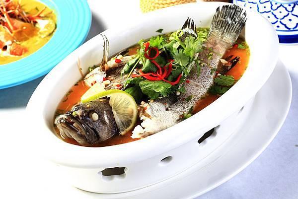 清蒸檸檬鱸魚。圖片來源晶湯匙