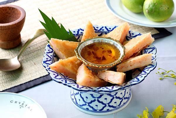 晶湯匙-月亮蝦餅。圖片來源晶湯匙