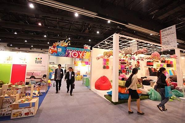展內創新玩具展區