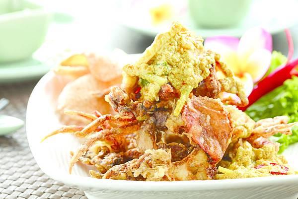 咖哩軟殼蟹OK