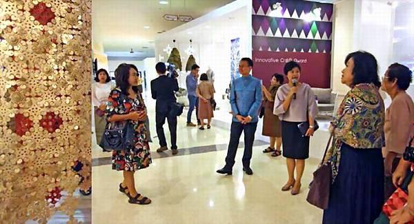 泰國國際工藝推廣中心全新啟用的展館