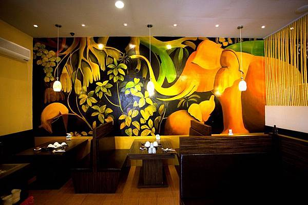 餐廳內景-沙鹿