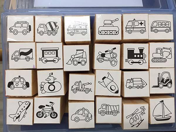 【台灣 ilovekids】木製造型印章