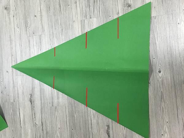 紙聖誕樹DIY