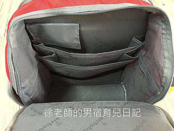 Airbobo氣墊減壓護脊書包