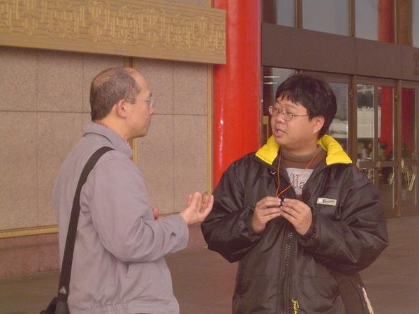 蜻蜓大哥&阿聖老師