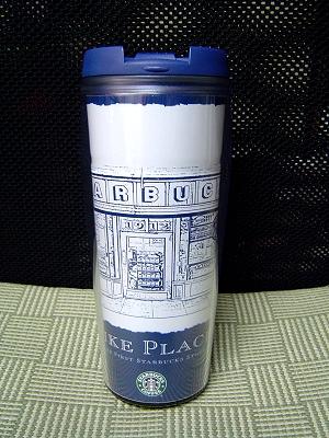 西雅圖派克市場紀念隨行杯