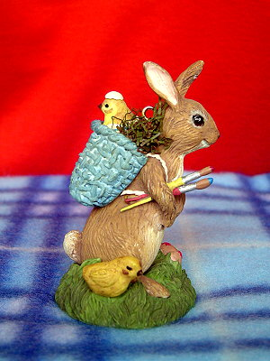 Hallmark復活節彩兔