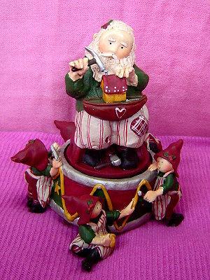 07年Santa's Helpers系列,聖誕快樂音樂盒(Wish you a merry christmas)
