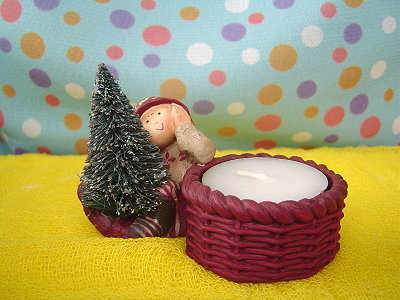 04年The Winter Fairies系列,聖誕樹精靈燭台(WF04150)