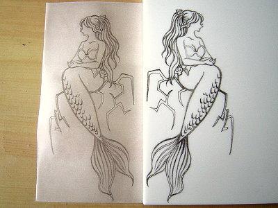人魚公主-NEKO描圖我轉印