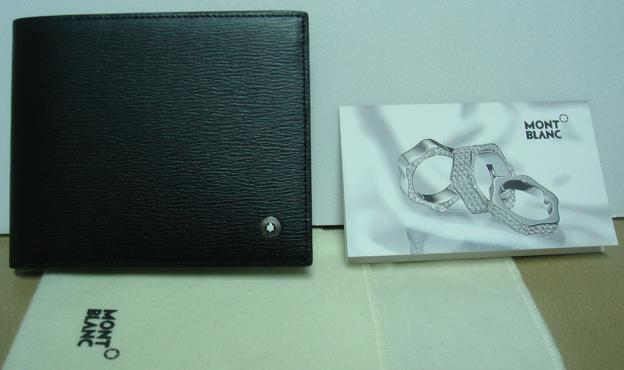 J 的Mont Blanc 11_皮夾與小卡片.JPG