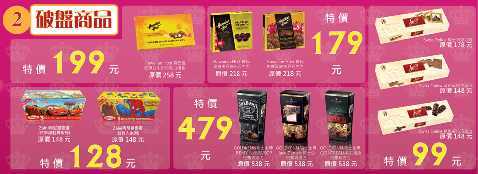 2012-The Cocoa Trees 週年慶破盤價
