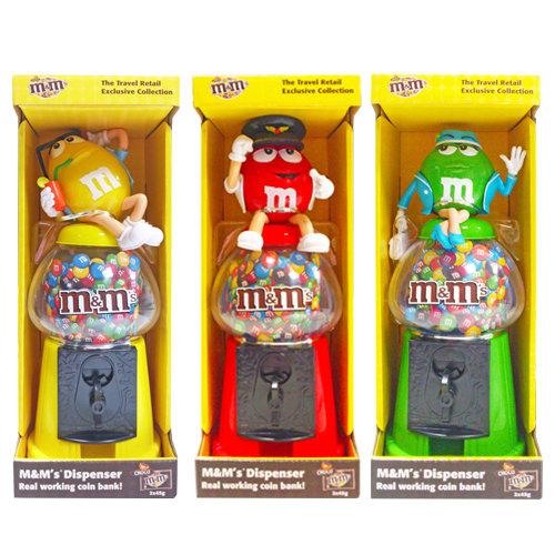 m&m's巧克力扭蛋機