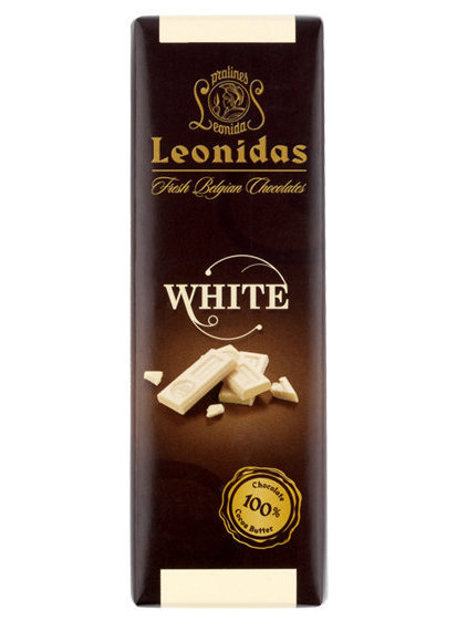 Leonidas比利時_雪白巧克力50g