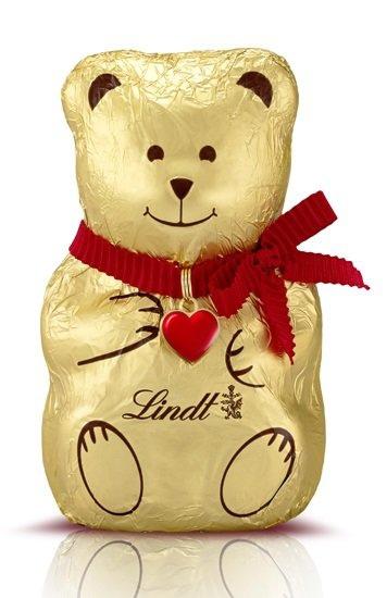 *聖誕限定*Lindt聖誕小熊巧克力100g