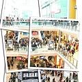 滿滿的購物人潮
