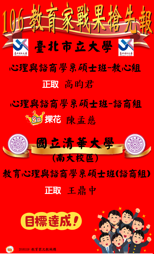 106 市北清華 推甄榜單 20161119.png
