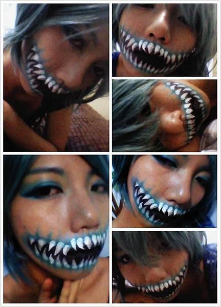 惡魔新娘-實驗彩妝