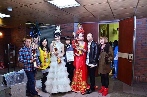 2014APHCA台北奧林匹克盃-新娘白紗組-冠軍