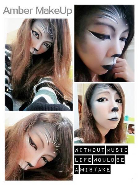 白兔與狼妝感設計2