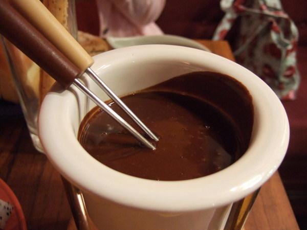 巧克力鍋底