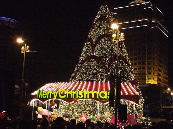 最大的聖誕樹