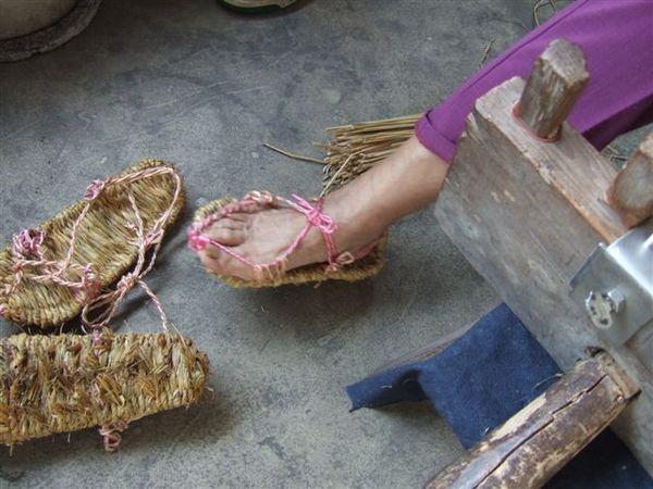 草鞋(著用照)
