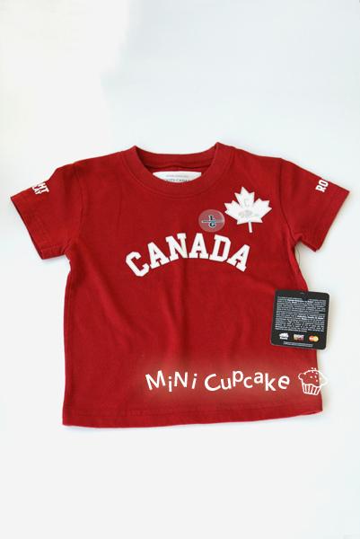 Roots Canada 限量款短T (L) 12~18M $560
