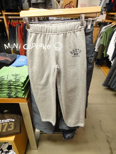 淺灰色棉褲