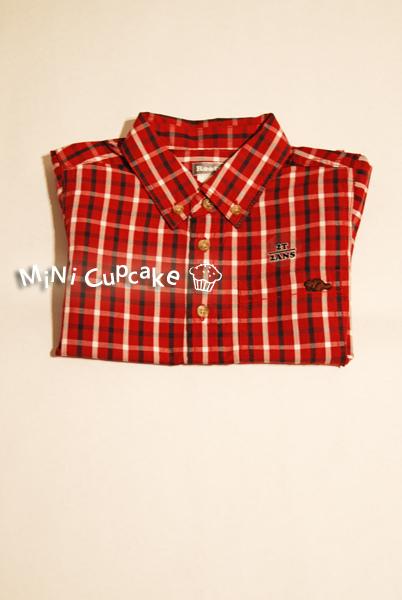 Roots Canada 2010 秋冬新款 學院風紅色格紋襯衫