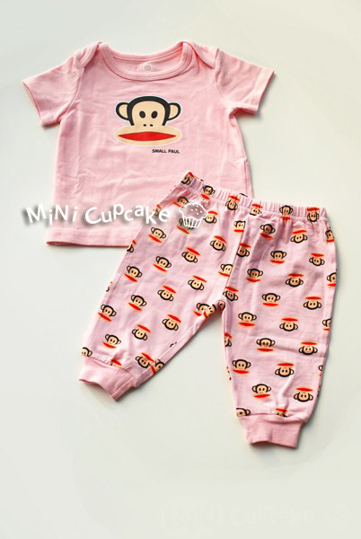 Paul Frank 2 pcs set Pink