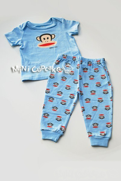 Paul Frank 2 pcs set Blue 9M *已售出*