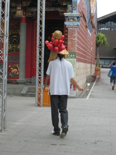 賣糖葫蘆的小販