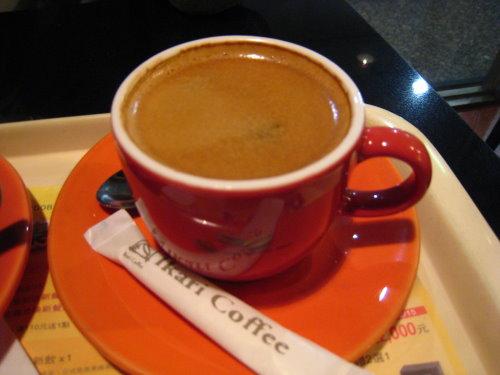 必點大杯Espresso