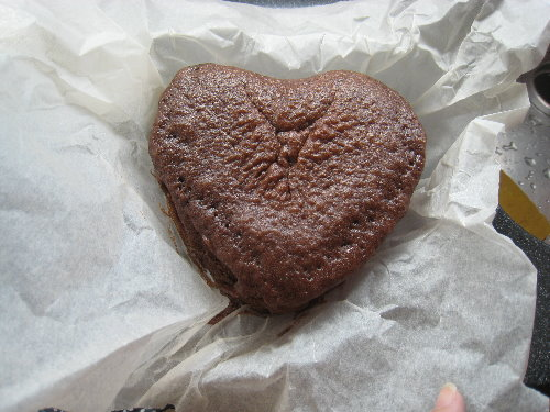 無蛋巧克力蛋糕~