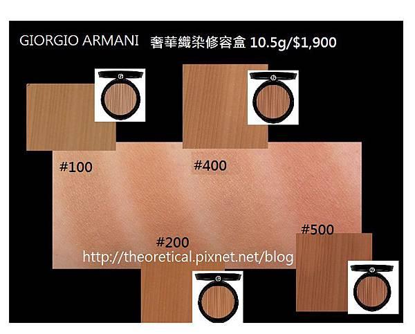 GIORGIO ARMANI 奢華織染修容盒