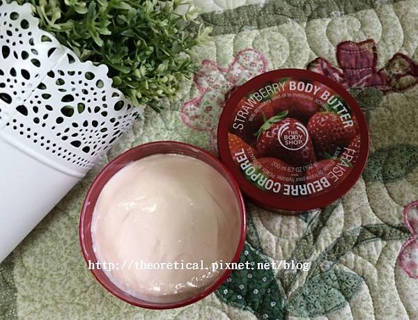bodyshop草莓身體乳霜