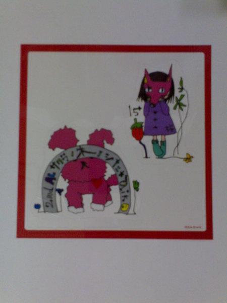 桜の木の下的特典貼紙